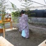 SP・Tハウス(共同住宅)新築工事 ‐地鎮祭‐