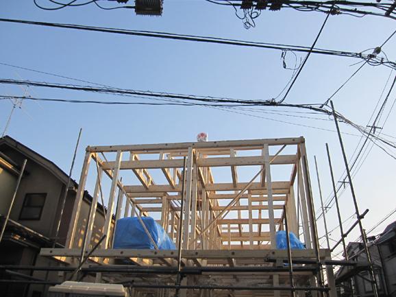 SP・Tハウス(共同住宅)新築工事  祝☆上棟