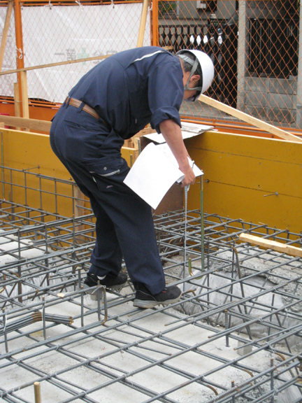SP・Tハウス(共同住宅)新築工事 ‐配筋検査~コンクリ打設‐