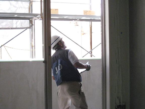 SP・Kマンション新築工事  ‐消防中間検査・瑕疵保険躯体検査‐