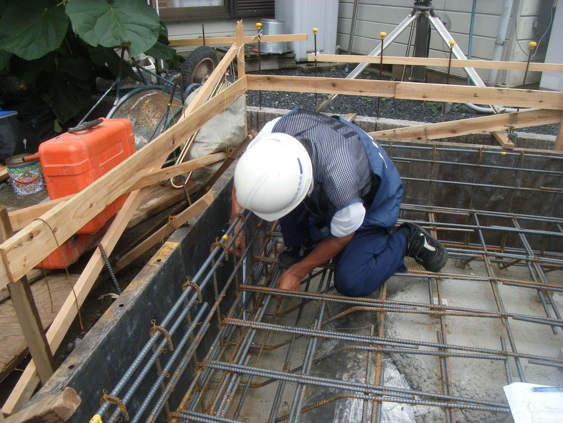 (仮称)南台五丁目住宅新築工事 -現場検査-